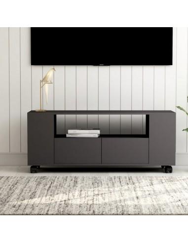 Televizoriaus spintelė, pilkos spalvos, 120x35x43cm, MDP   Pramogų Centrai ir TV Stovai   duodu.lt