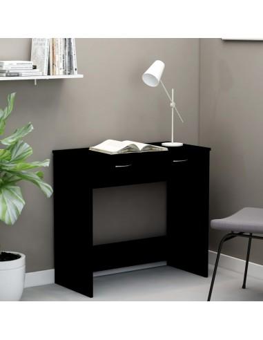 Rašomasis stalas, juodos spalvos, 80x40x75cm, MDP   Rašomieji Stalai   duodu.lt