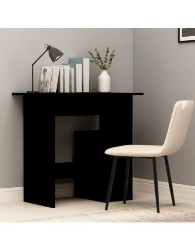 Rašomasis stalas, juodos spalvos, 80x45x74cm, MDP   Rašomieji Stalai   duodu.lt
