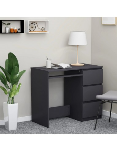 Rašomasis stalas, pilkos spalvos, 90x45x76cm, MDP | Rašomieji Stalai | duodu.lt