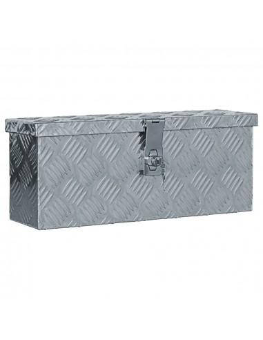 Aliuminio dėžė, 48,5x14x20cm, sidabrinė   Įrankių Dėžės   duodu.lt