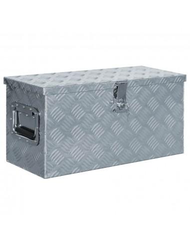 Aliuminio dėžė, 61,5x26,5x30cm, sidabrinė | Įrankių Dėžės | duodu.lt