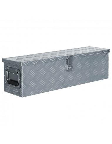 Aliuminio dėžė, 80,5x22x22cm, sidabrinė   Įrankių Dėžės   duodu.lt