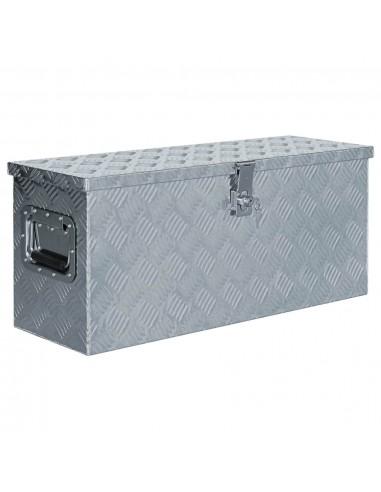Aliuminio dėžė, 76,5x26,5x33cm, sidabrinė | Įrankių Dėžės | duodu.lt