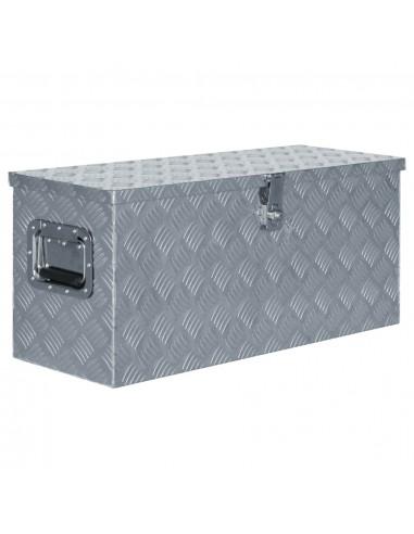 Aliuminio dėžė, 80x30x35cm, sidabrinė | Įrankių Dėžės | duodu.lt