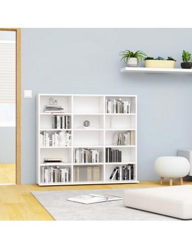 Spintelė kompaktiniams diskams, balta, 102x23x89,5cm, MDP | Multimedijos spintelės ir laikikliai | duodu.lt