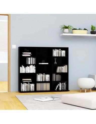 Spintelė kompaktiniams diskams, juoda, 102x23x89,5cm, MDP | Multimedijos spintelės ir laikikliai | duodu.lt