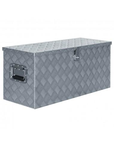 Aliuminio dėžė, 90,5x35x40cm, sidabrinė | Įrankių Dėžės | duodu.lt