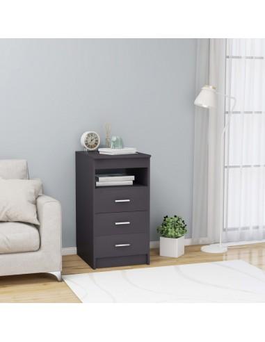 Spintelė su stalčiais, pilkos spalvos, 40x50x76cm, MDP | Spintos ir biuro spintelės | duodu.lt