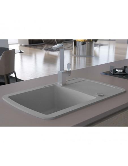 Praustuvas, apvalus, keramika, juodas, 40x16cm | Vonios praustuvai | duodu.lt