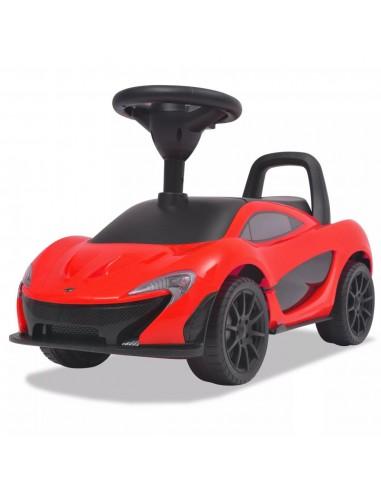 Vaikiškas automobilis McLaren P1, raudonos spalvos | Stumiamos ir Pedalais Minamos Transporto Priemonės | duodu.lt