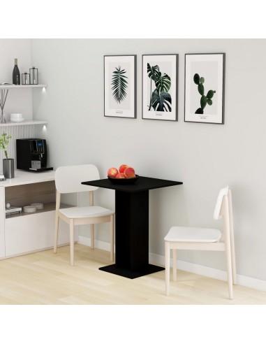 Bistro staliukas, juodos spalvos, 60x60x75cm, MDP  | Virtuvės ir Valgomojo Stalai | duodu.lt