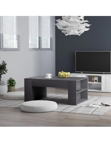Kavos staliukas, pilkos spalvos, 100x60x42cm, MDP | Kavos Staliukai | duodu.lt