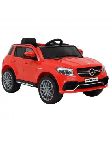 Vaikiškas automobilis Mercedes Benz GLE63S, raudonas, plastikas | Elektrinės Transporto Priemonės | duodu.lt