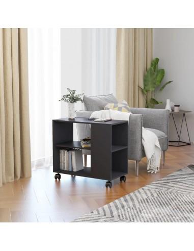 Šoninis staliukas, pilkos spalvos, 70x35x55cm, MDP   Žurnaliniai Staliukai   duodu.lt