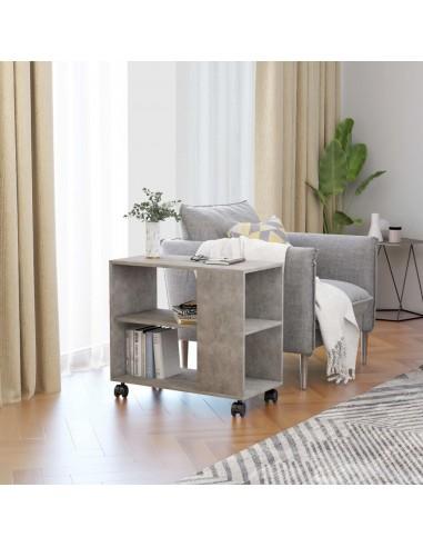 Šoninis staliukas, betono pilkos spalvos, 70x35x55cm, MDP | Žurnaliniai Staliukai | duodu.lt