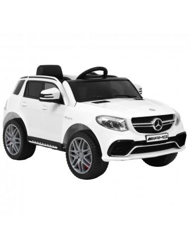 Vaikiškas automobilis Mercedes Benz GLE63S, baltas, plastikas   Elektrinės Transporto Priemonės   duodu.lt