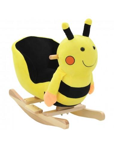 Supamas gyvūnas su atlošu, kamanė., pliuš., 60x32x57cm, gelt.   Supamieji Žaislai   duodu.lt