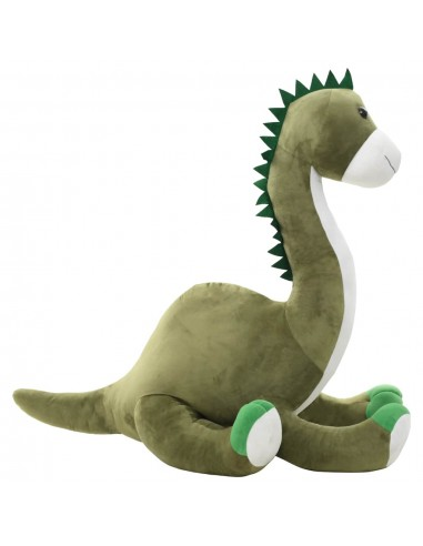 Minkštas žaislinis dinozauras-Brontozauras, žalias, pliušinis   Pliušiniai gyvūnai   duodu.lt