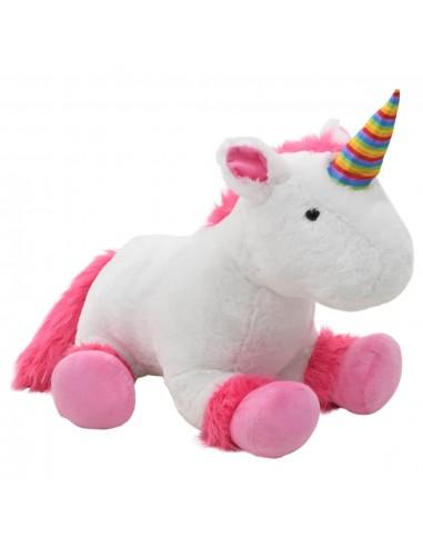 Minkštas žaislas vienaragis, rožinės ir baltos sp., pliušinis   Pliušiniai gyvūnai   duodu.lt
