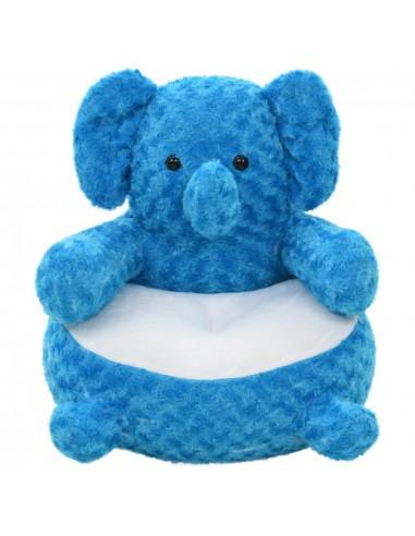 Minkštas žaislas dramblys, mėlynas, pliušinis | Pliušiniai gyvūnai | duodu.lt