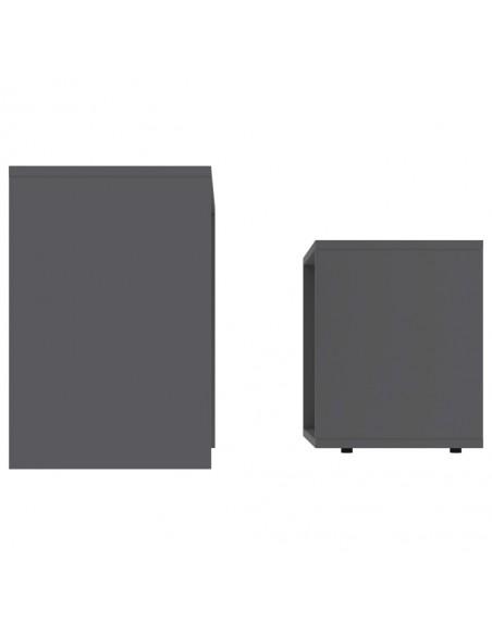 Sofos komplektas, 2 dalių, tamsiai pilkos spalvos, audinys   Sofos   duodu.lt