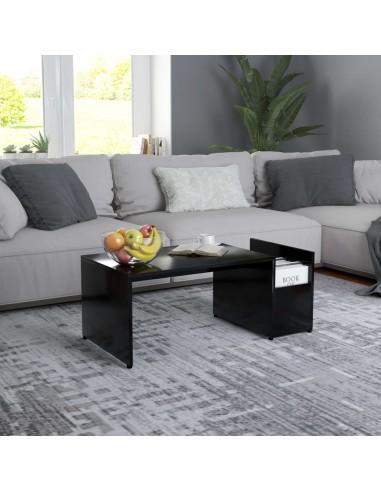 Kavos staliukas, juodos spalvos, 90x45x35cm, MDP   Kavos Staliukai   duodu.lt