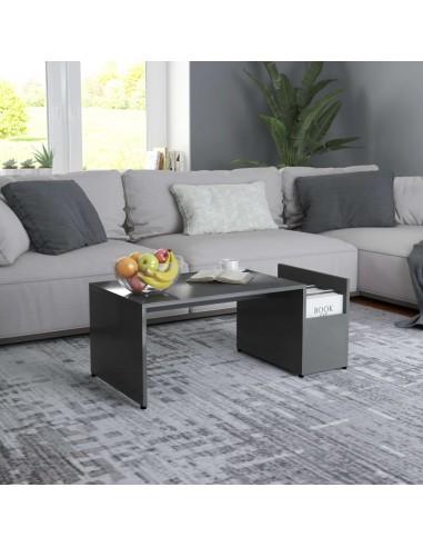 Kavos staliukas, pilkos spalvos, 90x45x35cm, MDP | Kavos Staliukai | duodu.lt