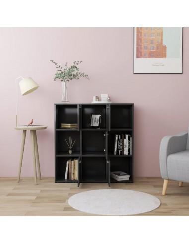 Sofos komplektas, 2 dalių, juodos spalvos, dirbtinė oda | Sofos | duodu.lt