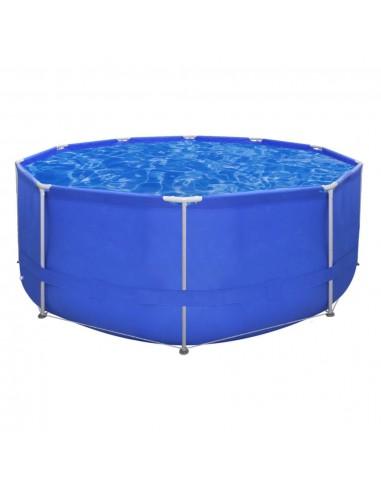 Apvalus Antžeminis Baseinas Plieniniu Rėmu 367 x 122 cm | Plaukimo Baseinai | duodu.lt