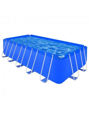 Stačiakampis Antžeminis Baseinas Plieniniu Rėmu 540 x 270 x 122 cm   Plaukimo Baseinai   duodu.lt