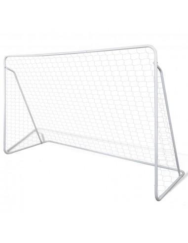 Futbolo Vartai, Rėmas ir Tinklas, 240 x 90 x 150 cm, Aukštos Kokybės | Futbolo vartai ir tinklai | duodu.lt