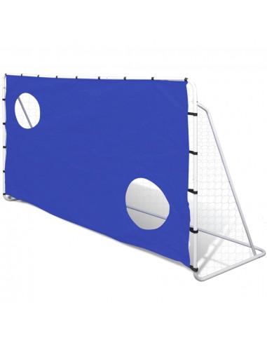 Futbolo Vartai su Treniruočių Siena 240 x 92 x 150 cm | Futbolo vartai ir tinklai | duodu.lt