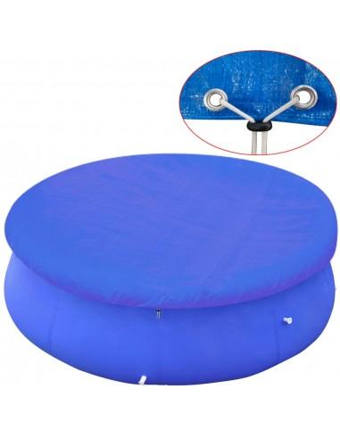 Baseino uždangalas, PE, apvalus, 300 cm, 90 g/m² | Baseinų Uždangailai ir Apsauginės Plėvelės | duodu.lt