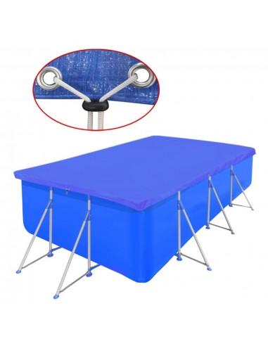 Baseino uždangalas, PE, stačiakampis, 90 g/m2, 400 x 207 cm | Baseinų Uždangailai ir Apsauginės Plėvelės | duodu.lt