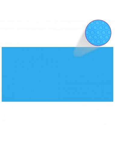 Stačiakampis Baseino Uždangalas, 450 x 220 cm, PE, Mėlynas   Baseinų Uždangailai ir Apsauginės Plėvelės   duodu.lt