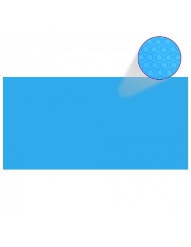 Stačiakampis Baseino Uždangalas, 549 x 274 cm, PE, Mėlynas | Baseinų Uždangailai ir Apsauginės Plėvelės | duodu.lt