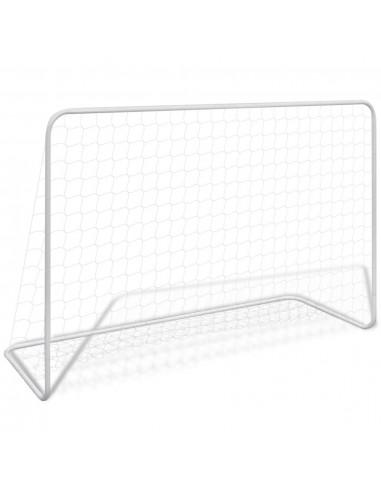 Futbolo Vartai 182 x 61 x 122 cm, Plieninis Rėmas ir Tinklas | Futbolo vartai ir tinklai | duodu.lt