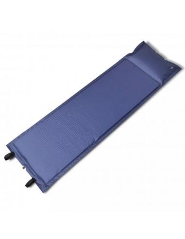 Mėlynas Prisipučiantis Miegojimo Kilimėlis 185 x 55 x 3cm (Vienvietis)   Miegojimo kilimėliai   duodu.lt