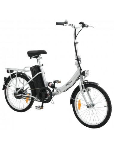 Sulankstomas elektrinis dviratis su akumuliatoriumi, aliuminio lydinys    Dviračiai   duodu.lt