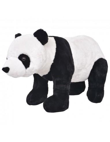 Stovintis pliušinis žaislas panda, baltos ir juodos sp., XXL   Pliušiniai gyvūnai   duodu.lt