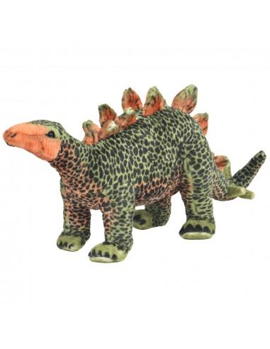 Stov. pliuš. žaislas dinoz. stegozauras, žal. ir oran. sp., XXL | Pliušiniai gyvūnai | duodu.lt