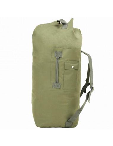 Militaristinio stiliaus daiktų krepšys, 85l, alyv. žal. sp.   Sportiniai krepšiai   duodu.lt