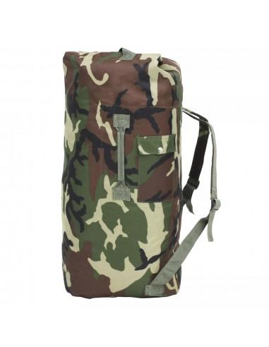 Militaristinio stiliaus daiktų krepšys, 85l, kamufliažinis | Sportiniai krepšiai | duodu.lt