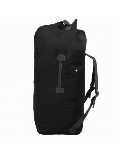 Militaristinio stiliaus daiktų krepšys, 85l, juodas | Sportiniai Krepšiai | duodu.lt