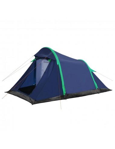 Stovyklavimo palapinė, mėlyna ir žalia, 320x170x150/110cm   Palapinės   duodu.lt
