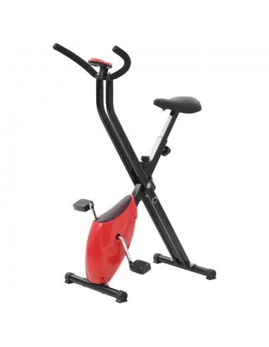 Dviratis treniruoklis X-Bike, su pasiprieš. diržu, raudonas   Dviračiai treniruokliai   duodu.lt