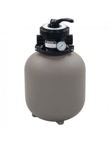 Smėlio filtras baseinui su 4 pozicijų vožtuvu, pilkas, 350 mm | Baseino ir SPA Filtrai | duodu.lt