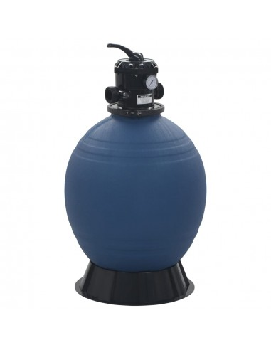 Smėlio filtras baseinui su 6 pozicijų vožtuvu, mėlynas, 560mm    Baseino ir SPA Filtrai   duodu.lt