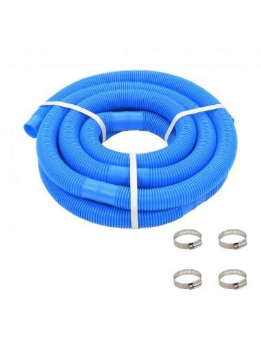 Baseino žarna su spaustuvais, mėlyna, 38 mm, 6 m | Baseino Valymo Žarnos | duodu.lt